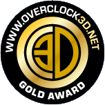 OVERCLOCK3D Gold Award